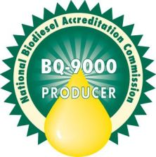 American GreenFuels is a National Biodiesel Accreditation Commission BQ-9000 Producer